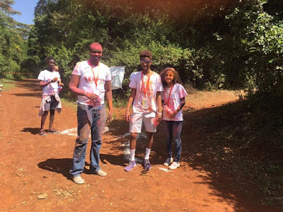 More photos from the WildRun in Kenya's Ngong Forest