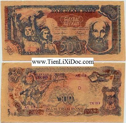 500 Đồng Cụ Hồ 1949(500 Đồng chiến thắng sông lô)