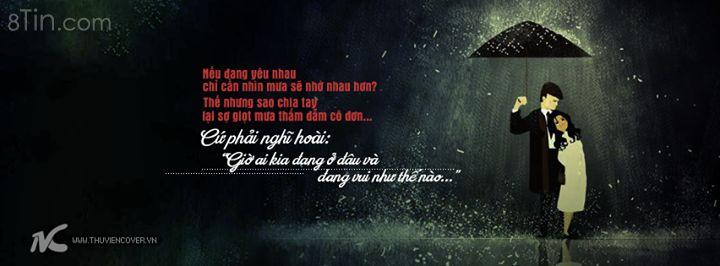 Nếu đang yêu nhau chỉ cần nhìn mưa sẽ nhớ nhau hơn?