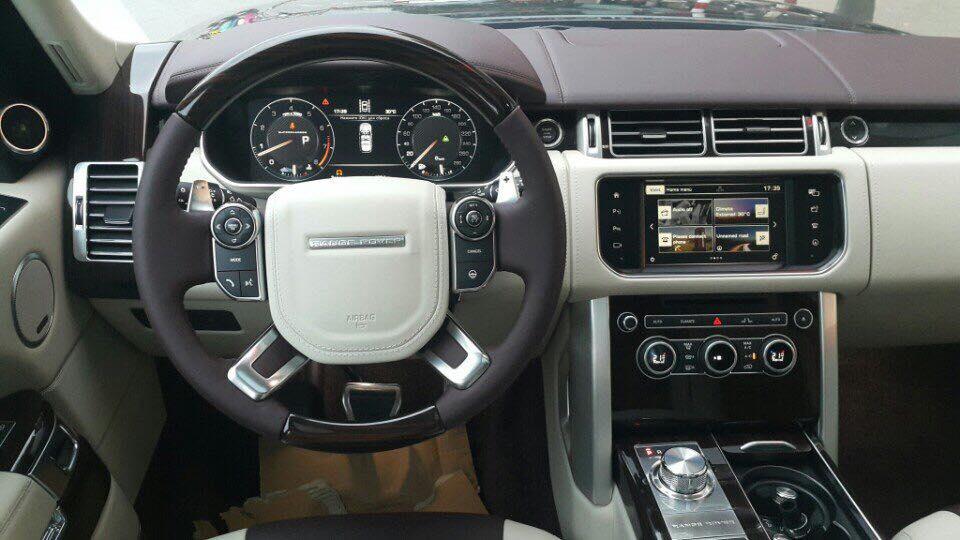 Nội thất xe Land Rover Range Rover SV Autobiograp 01