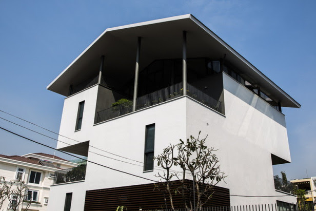 nhà đẹp chống lũ - floating house