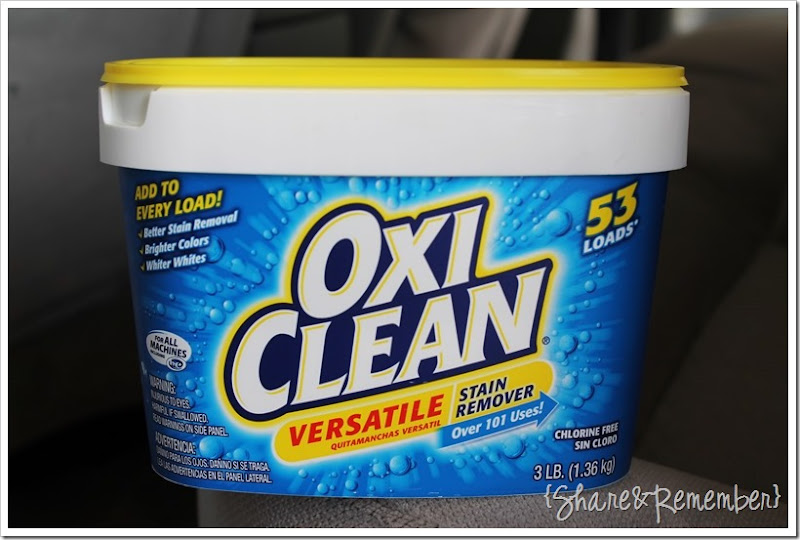 Cleaning The Car Upholstery Is Easywith Oxiclean Versatile