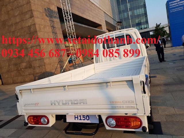 Xe Porter H150 thùng đông lạnh