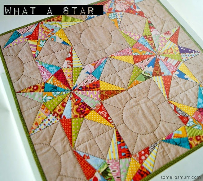 Little Quilts - What a Star by Sarah Fielke
