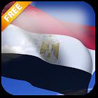 3D Egypt Flag Live Wallpaper icon
