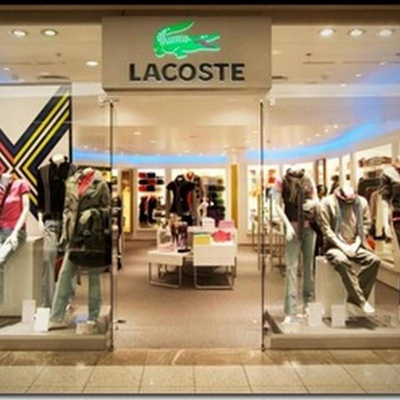 25abc59328ddf Lacoste em Curitiba realiza venda especial com até 60% OFF.