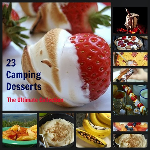23 camping desserts