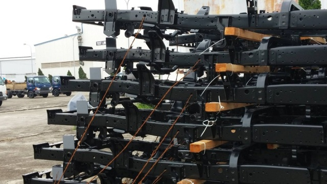 Chassi xe lên tải HD98 nhập khẩu