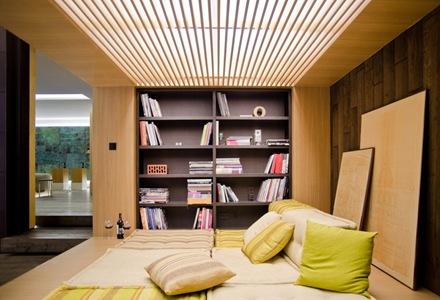 diseño-cama-Departamento-loft