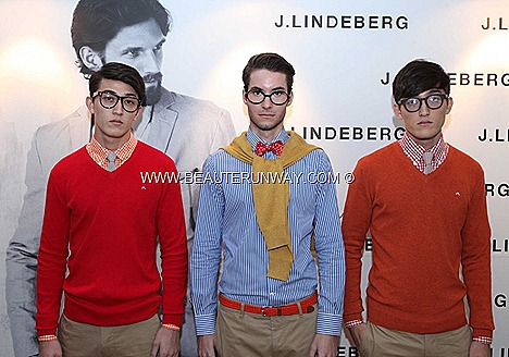 J.LINDEBERG Spring Summer 2012 Menswear  beige blue jacket sweater cashmere coat shirt pants demin jeans t-shirts shoes leather