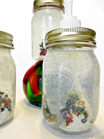 snow globe soap children