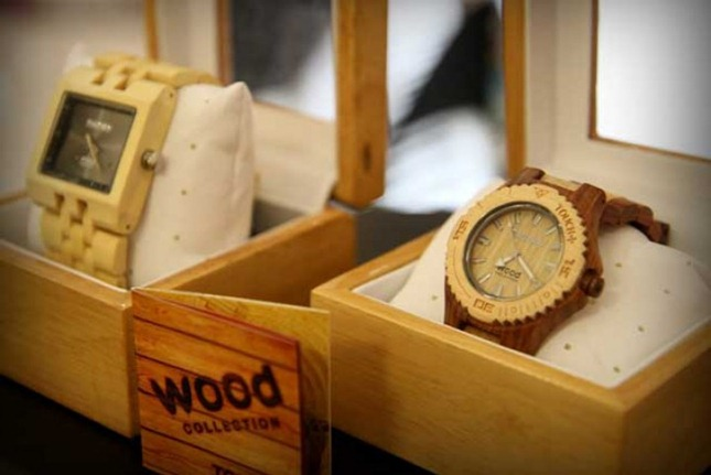 c6df9c01325da Relógios de madeira na Loja Touch Watches – Sugestão do Shopping ...