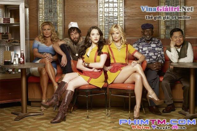 Xem Phim 2 Nàng Bá Đạo 5 - 2 Broke Girls Season 5 - phimtm.com - Ảnh 1