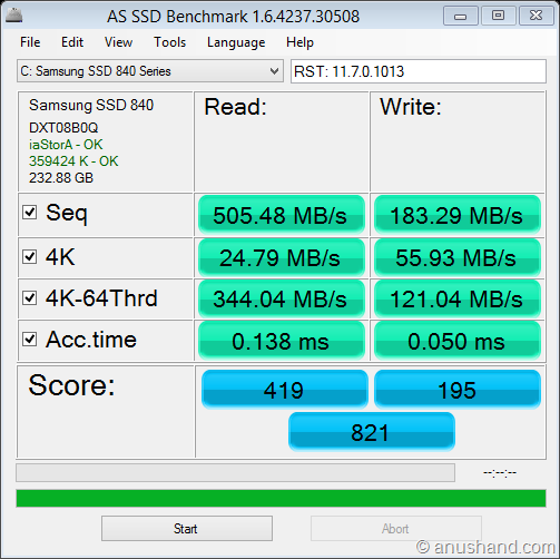 as-ssd-bench Samsung SSD 840  2013-06-01 8-54-44 AM