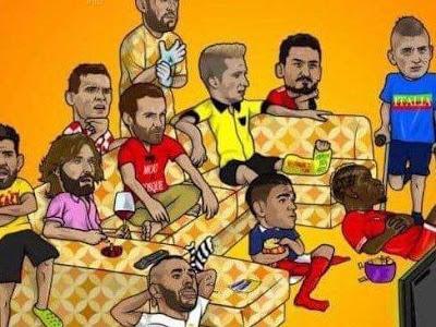 Team đá Euro ở nhà :3 Bạn biết bao nhiêu cầu thủ