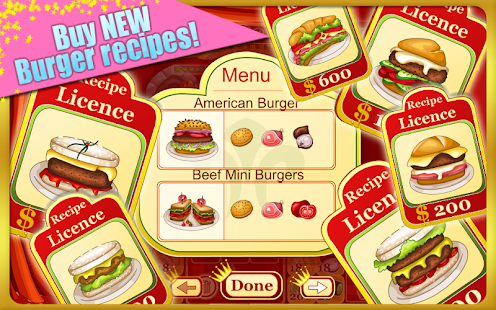 Burger Restaurant Cooking Game 家庭片 App-愛順發玩APP