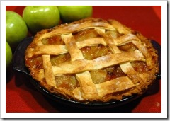 Apple pie. Image credit: Wikimedia Commons