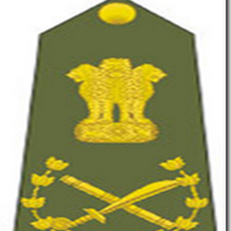 ARMY A DREAM: RANK STRUCTURE IN INDIAN ARMY