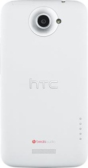 HTC One X 4G Android Phone back