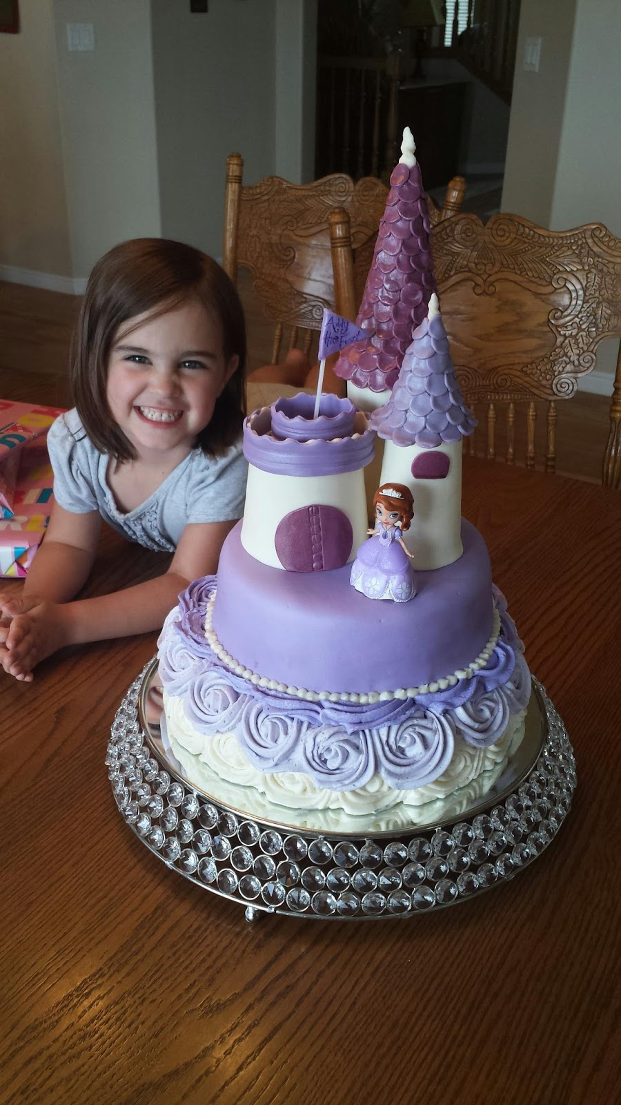 Sofia The First Castle Cake Ideas Gallery