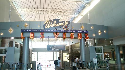 [写真]ラスベガスのMcCarran International Airport