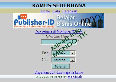 source code kamus online php Archives - si Kencur