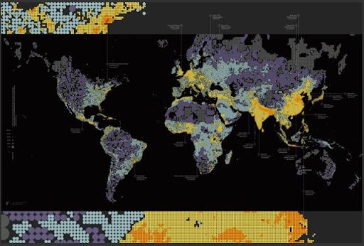 Países con mayor cantidad de habitantes