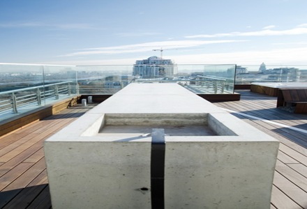 Terraza-moderna-Departamento-loft