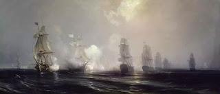 Trận hải chiến giữa Hải Quân Pháp và Hải Quân Anh ngoài khơi Maryland. Pháp không cho quân Anh tiến vào đất liền nơi quân kháng chiến Mỹ chiếm giữ.