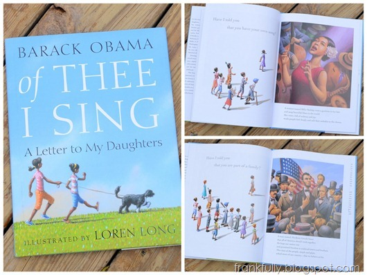 Of Thee I Sing, by Barack Obama