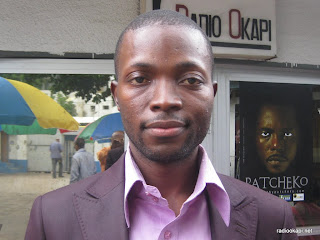Ivon Muya, journaliste de Digital Congo, invité de Radio Okapi à Kinshasa.