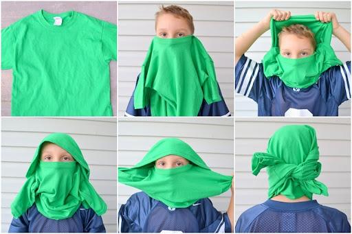 Ninjago Costumes - the mask & Simple DIY Ninjago Costumes » Figur8 - Nurture for the Future