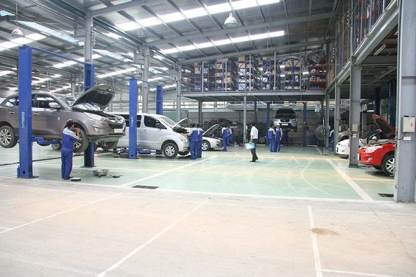 Xưởng bảo hành, sửa chữa Hyundai Bắc Việt