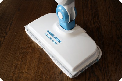 steam mop on hardwoods