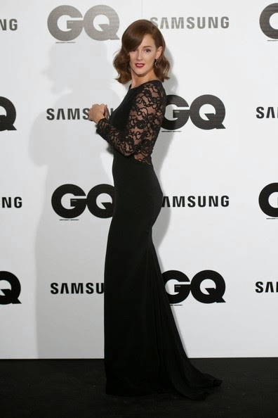 Ana Polvorosa attends the GQ 2014 Men of the Year awards