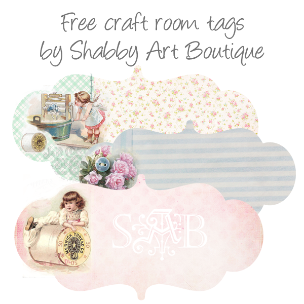 Shabby Art Boutique free tags