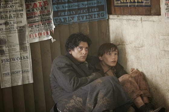 Aneurin Barnard and Xavier Atkins in The Adventurer