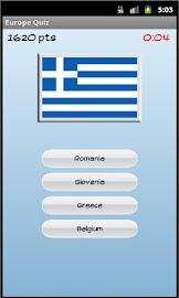 Europe Quiz Screenshot 5