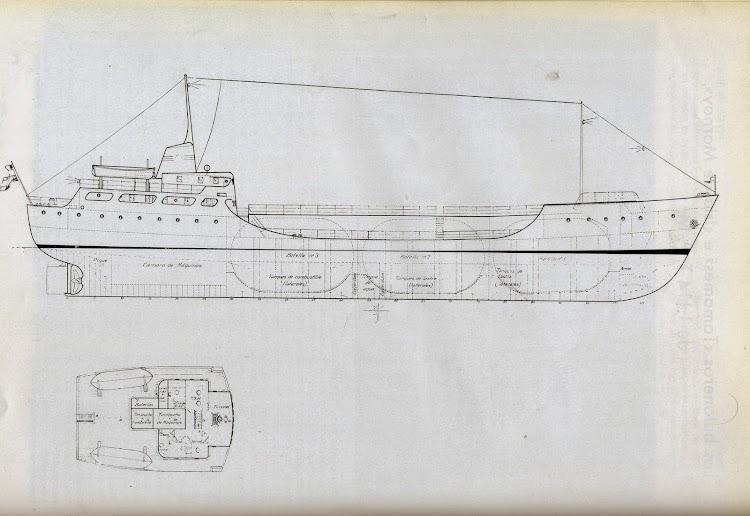 Planos del buque. Foto Ingenieria Naval. Septiembre de 1965.jpg