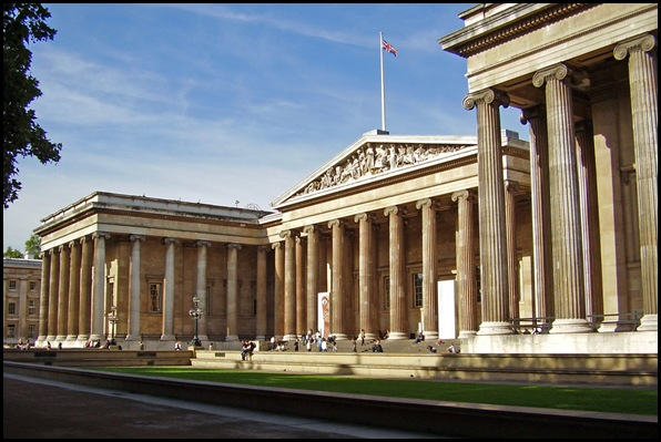 Old British Reading Room, British Museum, Londres , Angleterre