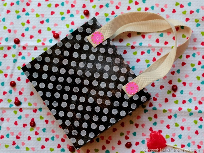 Cereal Box Purse  - Valentine's Day Child Tote via homework (10)