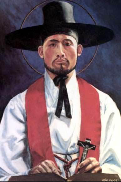 Thánh Anrê Kim Têgon & Phaolô Chong Hasang và các Bạn tử đạo Ðại Hàn
