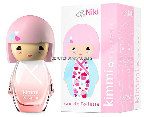 KIMMI MIMI LILY NIKI PERFUME LIMITED EDITION EAU DE TOILETTE 50ml Made in France by Koto Parfums csummer kimono dress pink hair dolly eyes sweet cupcakes stickers HELLO KITTY FRAGRANCES SEPHORA SINGAPORE BUGIS JUNCTION SPONSORED GIVEAWAY