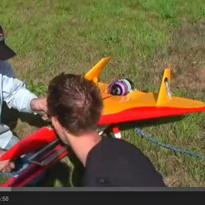 Turbine Powered RC Jet