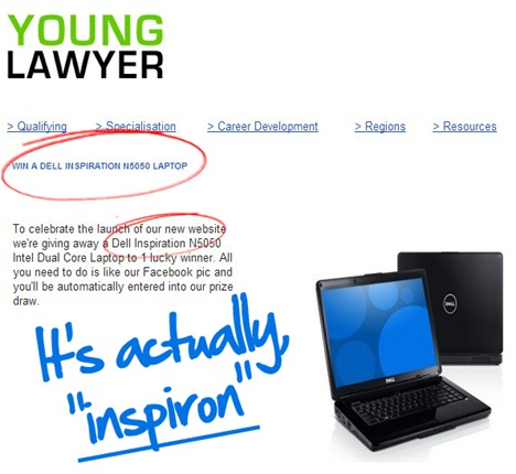 junior lawyer - dell laptop
