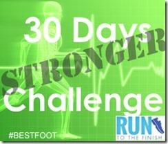 Stronger runner Challenge