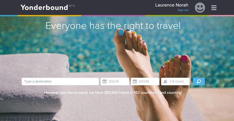 yonderbound homepage
