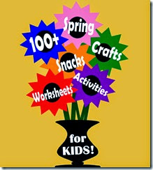 100 Spring Crafts, Snacks, and Kids Acitviites