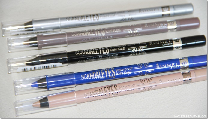 rimmel scandal eyes eyeliner review swatches katie snooks