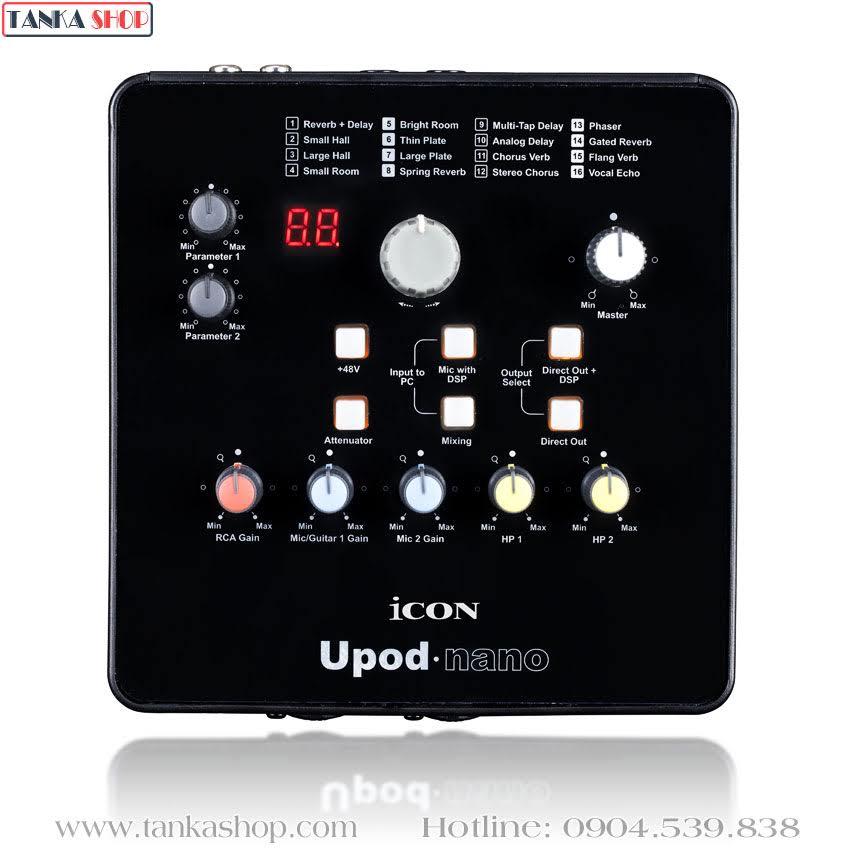 Sound card usb Icon Upod Nano